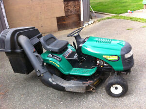 Weed Eater ride on mower