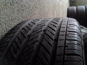 ONLY 4 TIRES  4 x 225/50/17 MICHELIN mxm4 all season tires %90