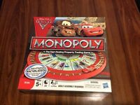 disney cars monopoly
