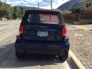 2005 Smart Fortwo Blue Convertible