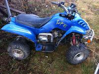 90cc baja 4 wheeler
