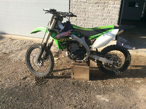 Kx 450 with ownership