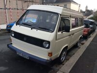 VW T25 1980 campervan for sale!