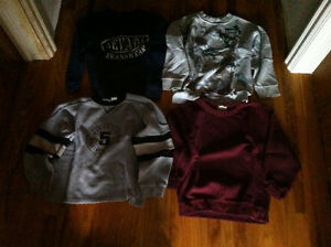 Boys size 7/8(small) sweat top clothes package