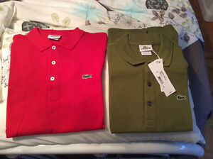BRAND NEW Lacoste Polos