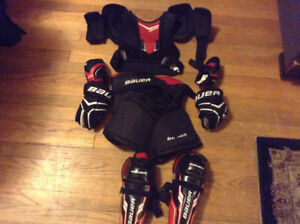 Bauer legacy starter kit - size medium