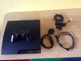 PS3 slim 160gb with games