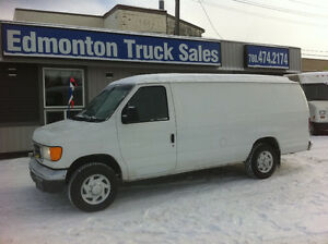 2006 FORD E-250 XL EXTENDED  CARGO VAN
