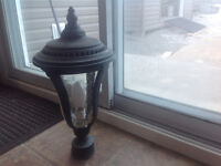 luminaire, lampadaire, ficture outside, floor lamp