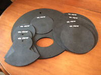 Drum Mute Pad Set
