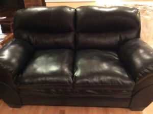 leather Couch Ashley Brand