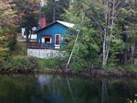 Lakefront Cabin- Minutes from St Andrews By the Sea!! New Price!