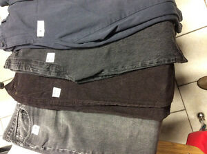 Large assortment of quality men's pants, jeans and corduroy pant Stratford Kitchener Area image 2