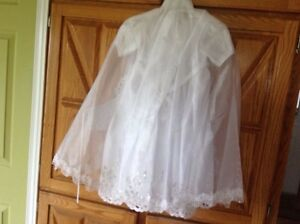 Christening or Baptism Dress. (3 Pieces) NEW $50.00