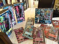 Monster high - brand new in boxes