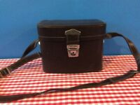 Vintage Leather Fitted Camera Case