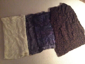 4 BEAUTIFUL INFINITY SCARVES
