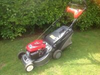 Honda/castle plus mower