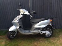 Piaggio fly 50cc spares or repairs need carb one key green slip oringal owners books 250ono