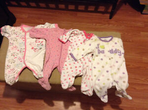 Newborn baby lot. Girl. Clothes