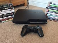 Sony PS3 Slim + 21 games