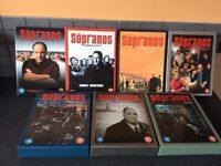 The sopranos complete DVD series 1-6