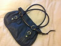Tula bag teal leather excellent condition cost almost £100