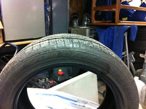 Goodyear eagle ls2 tires, 225/50r17