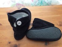 REDUCED Black Next Slippers Size S
