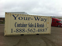 Guelph- Kitchener- Cambridge20'&40' storage containers for rent