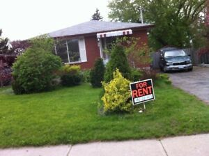 Legal basement two bedrooms in eastern Oshawa are available now
