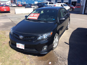 2012 Corolla S for sale