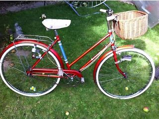 Raleigh Bermuda town bike (retro )