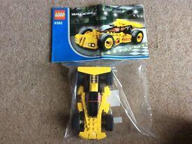 Lego yellow racer