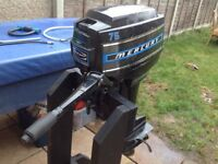 Mercury 7.5hp outboard engine