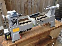 Warco mc1018 electronic variable speed mini woodturning wood lathe