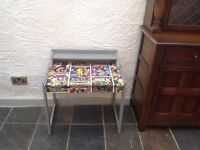 Funky up-cycled marvel themed desk