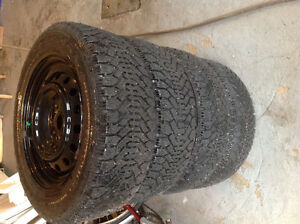 Winter-Tires - NORDIC - 16 inch size - Very Good Condition West Island Greater Montréal image 2