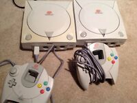SEGA DREAMCAST AND GAMES FOR SALE OR TRADE