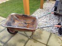 Metal wheelbarrow ideal for allotment?