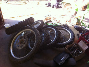 KX 125 and KX 85 parts