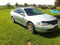 2000 Honda Accord EX Coupe (2 door) Fully Loaded