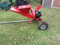 5hp chipper for rent! Just in time for fall!