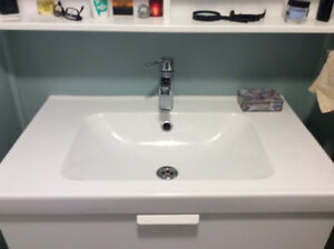 Ikea type ceramic sink and faucet