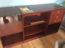 Gorgeous storage unit bookcase, Swedish Design well made ex cond