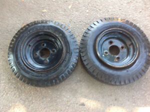 2 Trailer's Tires - good condition -$30 each