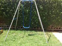 Children's 2 in 1 swing