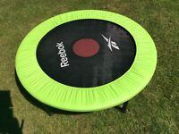Reebok rebounder mini trampoline