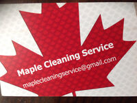 MAPLE CLEANING SERVICES - NEW CLEANING COMPANY !!!