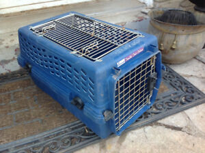 "Carry on crate for small dog or cat- 19"" x 12"" x 11""H"